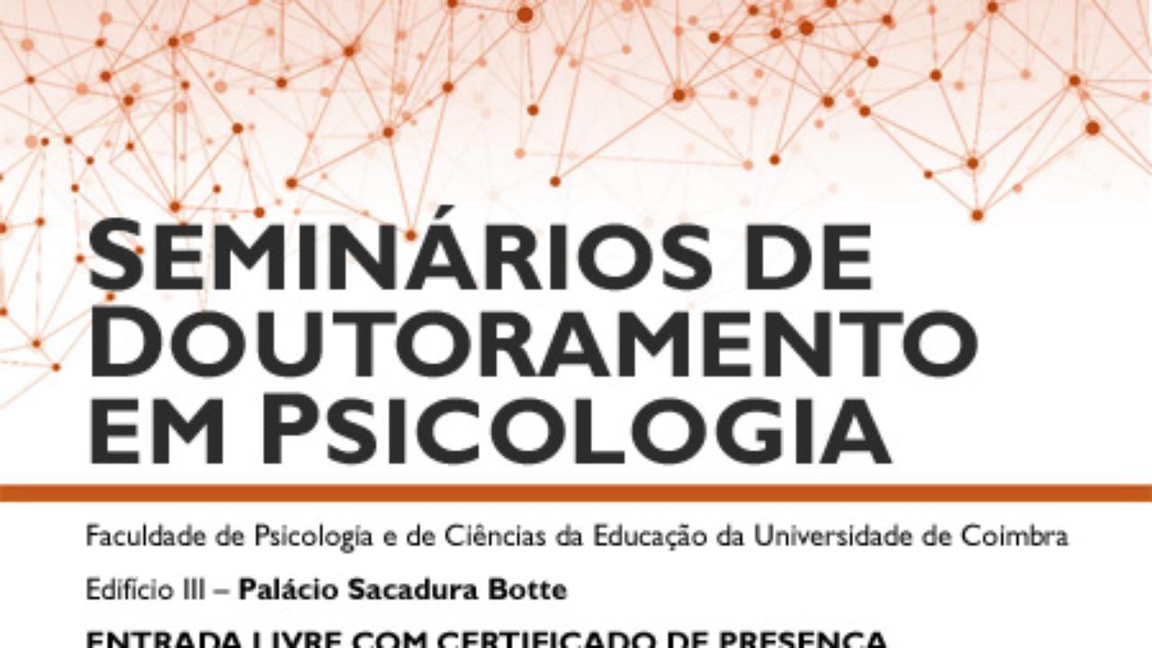 Seminários de Doutoramento em Psicologia