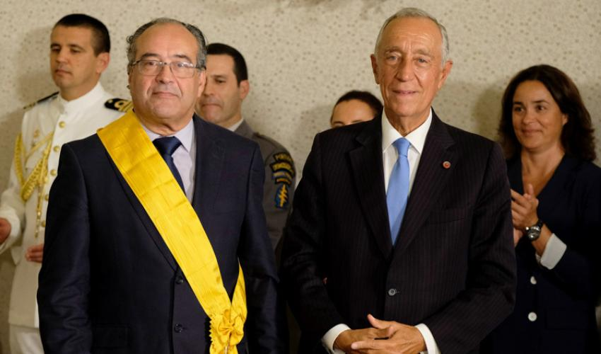 Manuel Antunes Condecoração