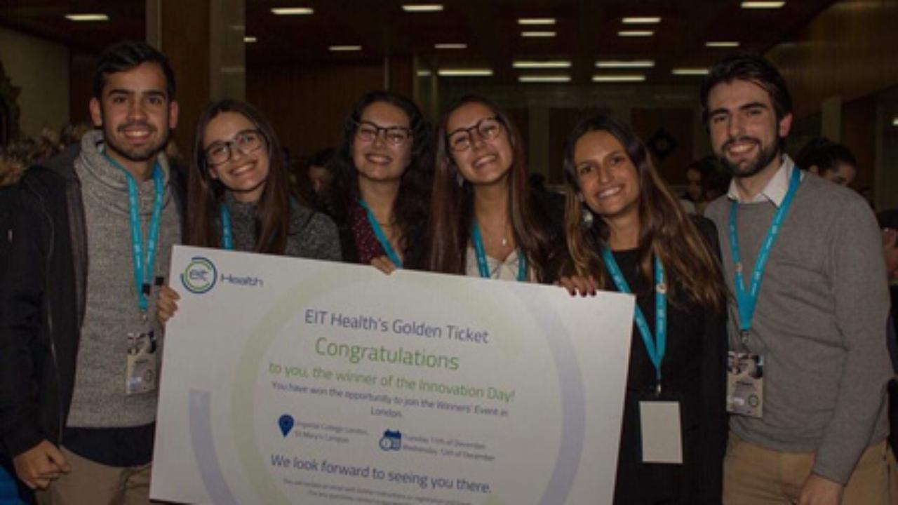 5 alunos da FPCEUC vencedores de um concurso de inovação na Área da saúde mental
