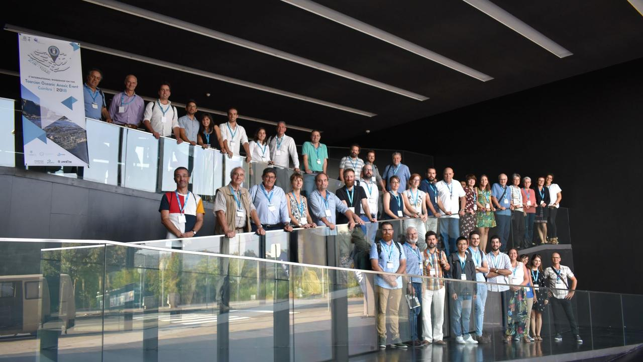 Grupo participante no TOAE