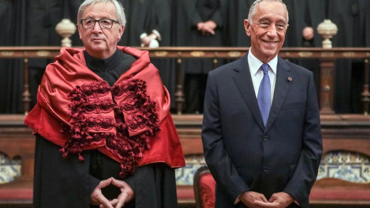 Cerimónia de Doutoramento Honoris Causa ao Presidente da Comissão Europeia
