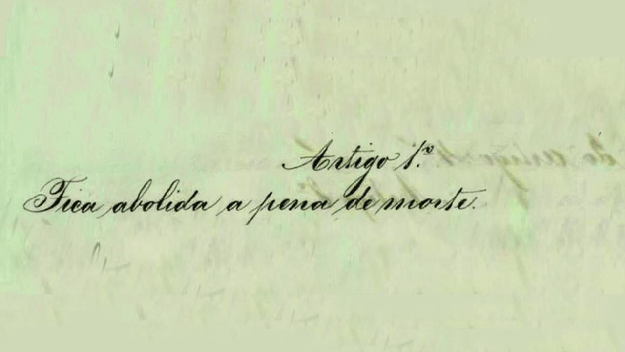 Comemoracoes 150 anos Abolicao Pena de Morte