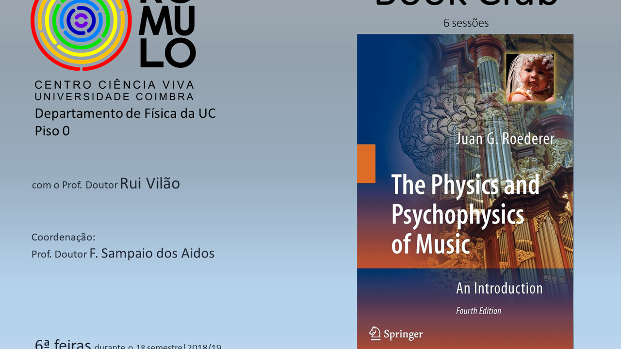 Book Club - The Physics and Psychophysics of Music