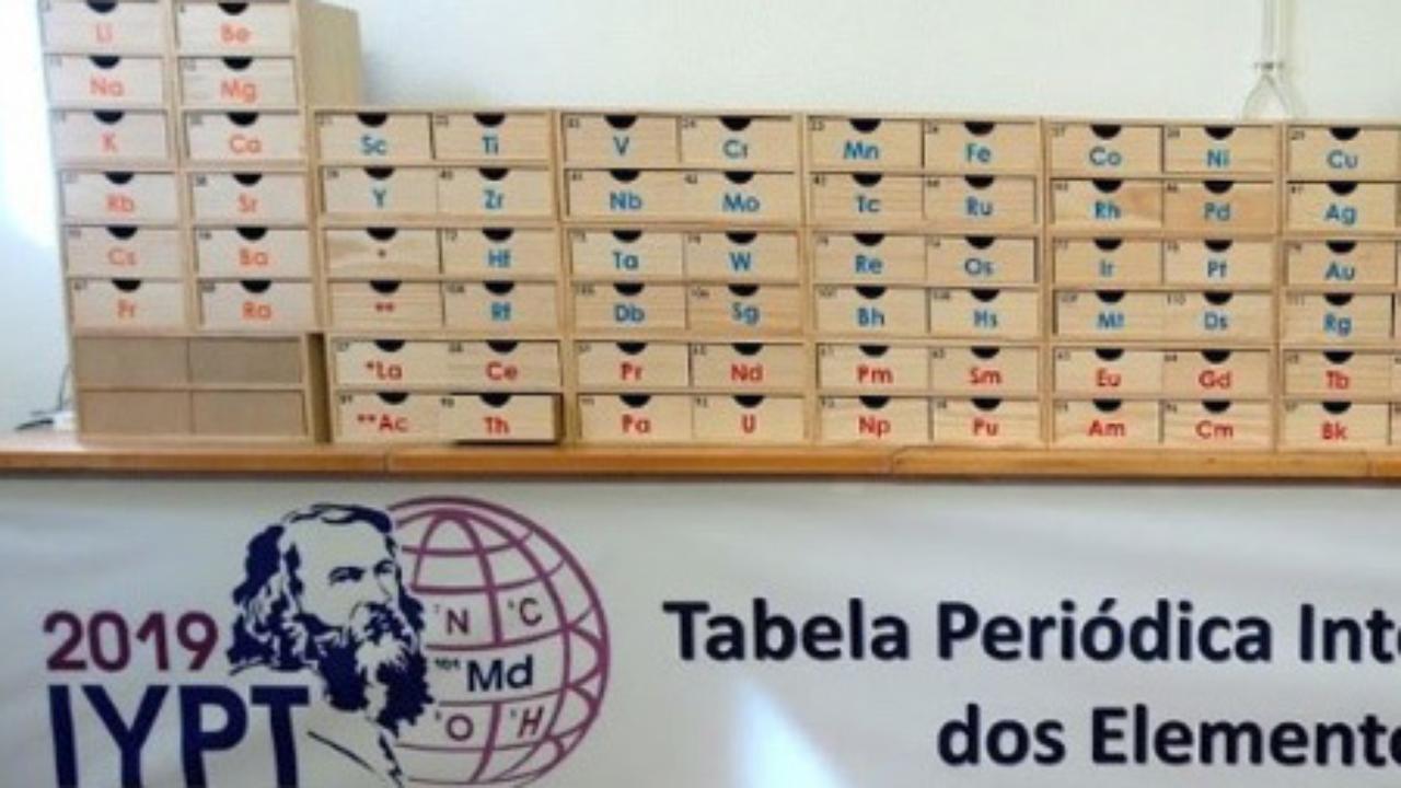 Tabela Periódica Móvel