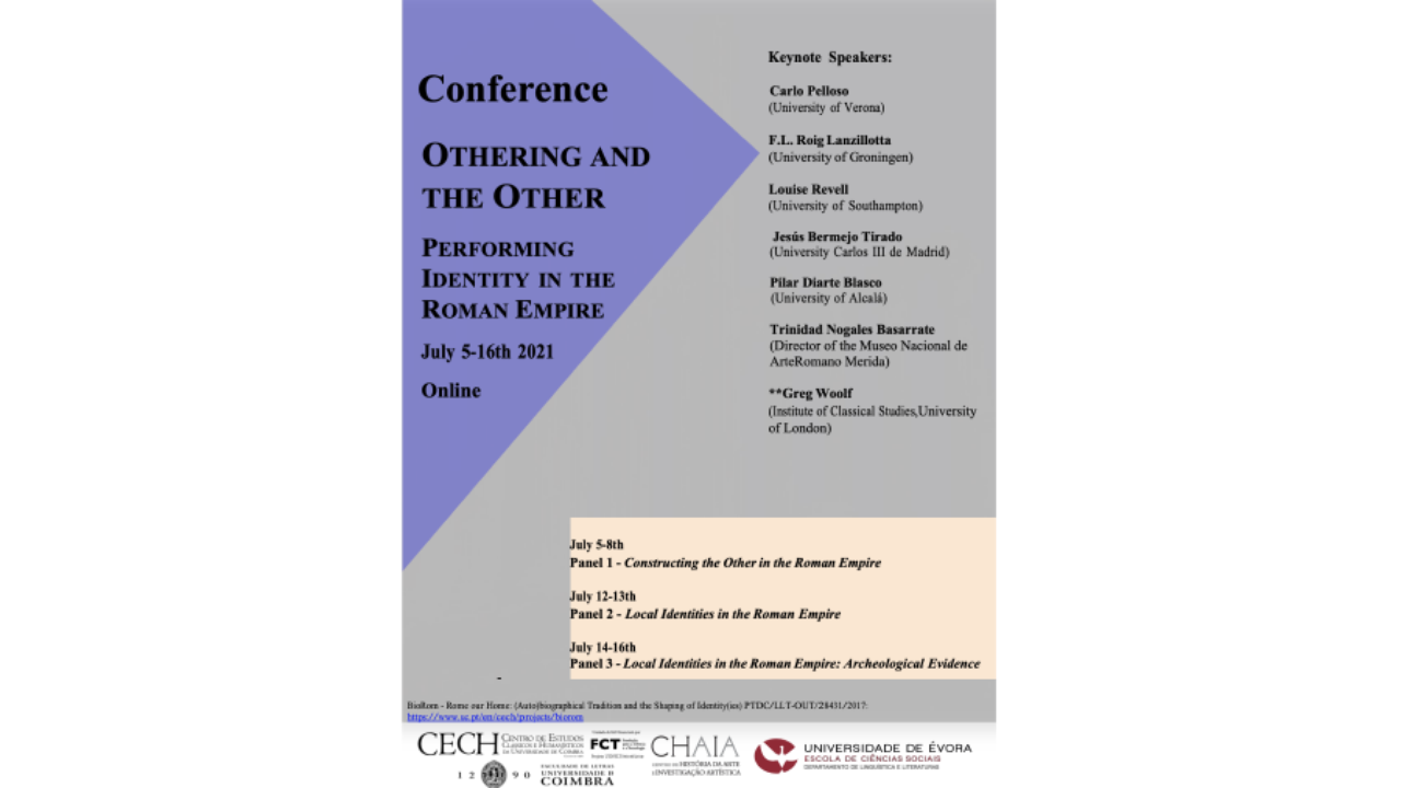 Othering and the Other. Performing Identity in the Roman Empire