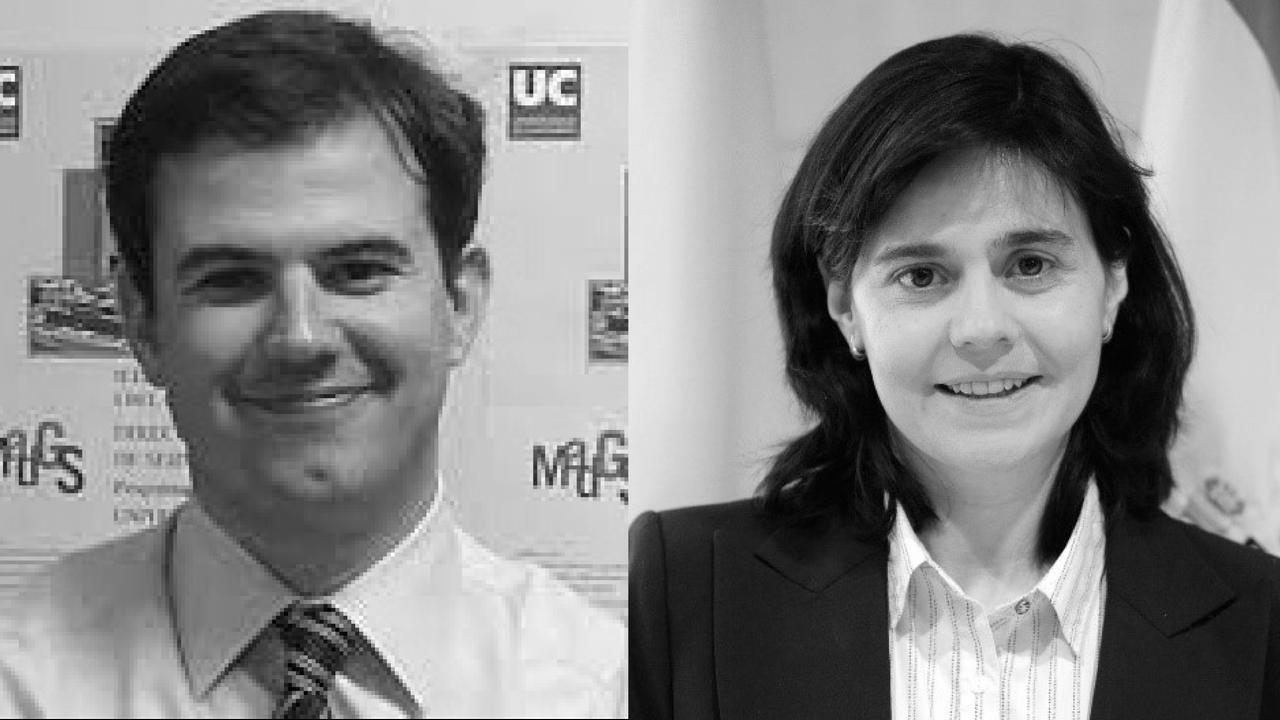 David Cantarero and Marta Pascual