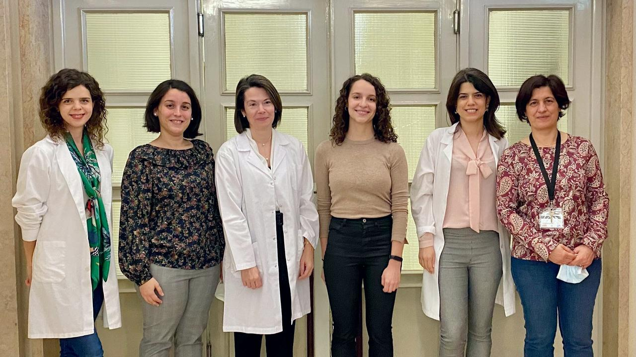 Diana Moura, Maria João Martins, Célia Lavaredas, Sofia Caetano, Sofia Morais e Graça Cabral