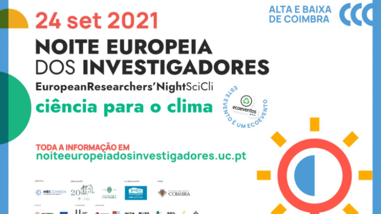Noite Europeia dos Investigadores da UC promove atividades em 45 pontos da cidade