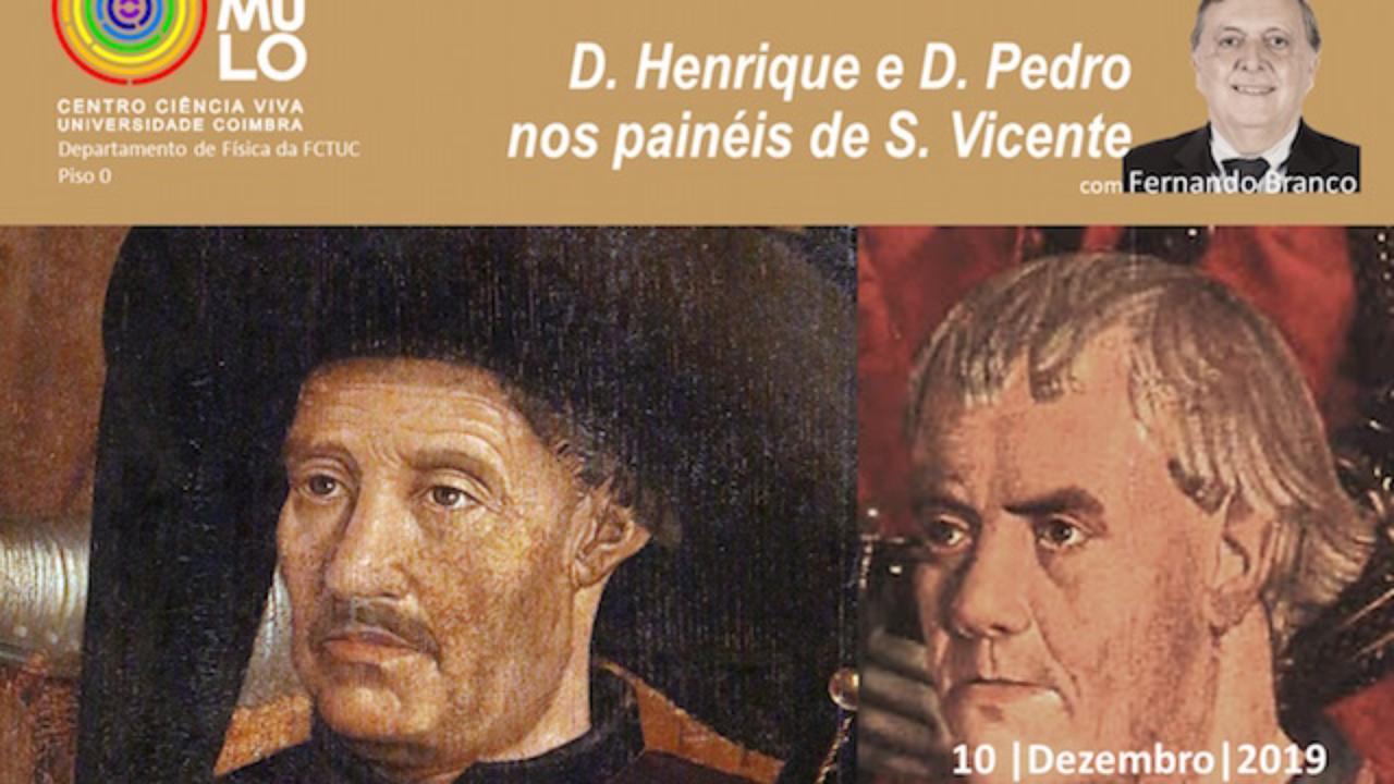 D. Henrique e D. Pedro nos Painéis de São Vicente