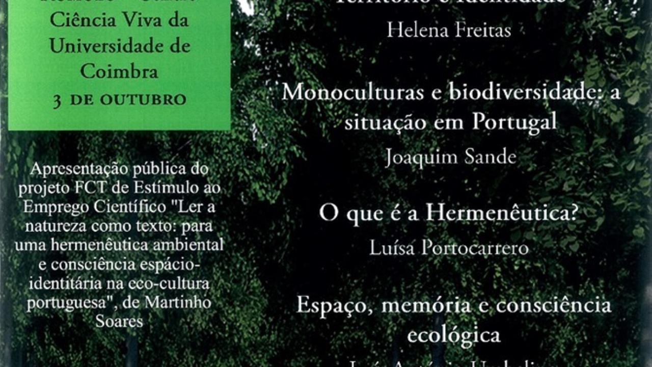 Espaço, Memória e Biodiversidade