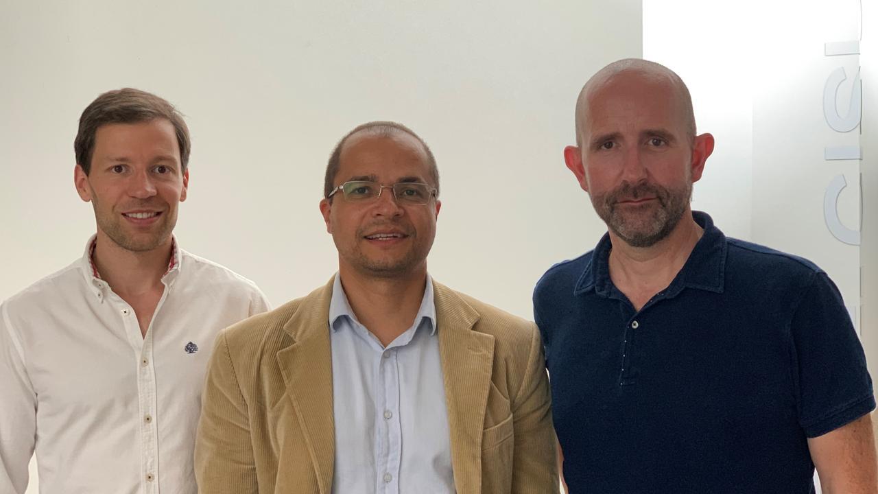 Renato Panda, Rui Pedro Paiva e Ricardo Malheiro