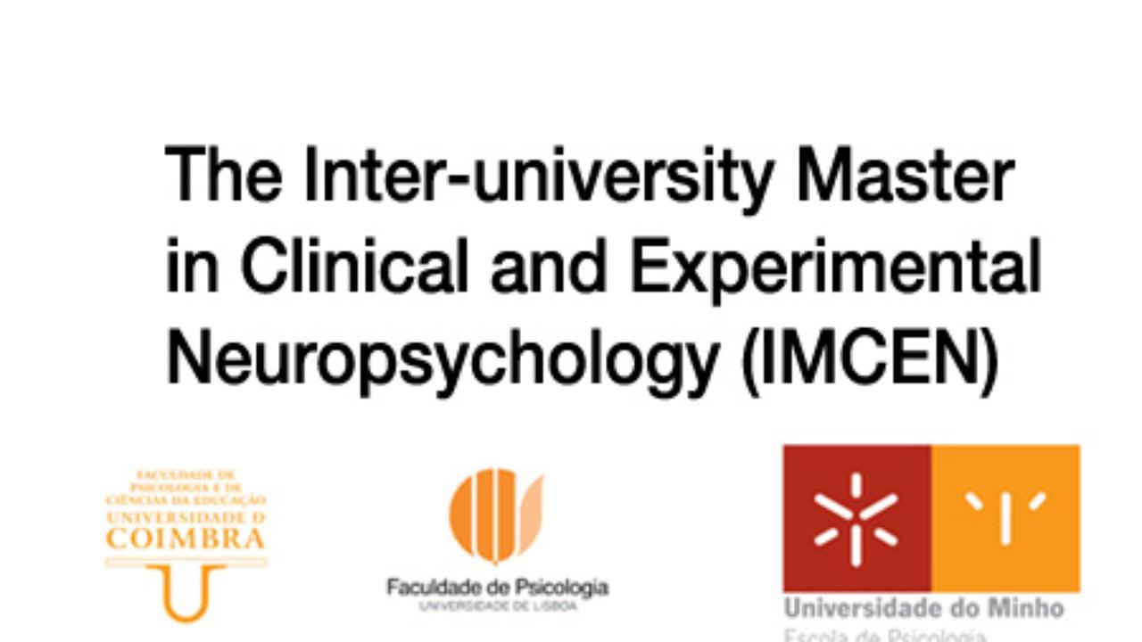 The Inter-university Master in Clinical and Experimental Neuropsychology (IMCEN)