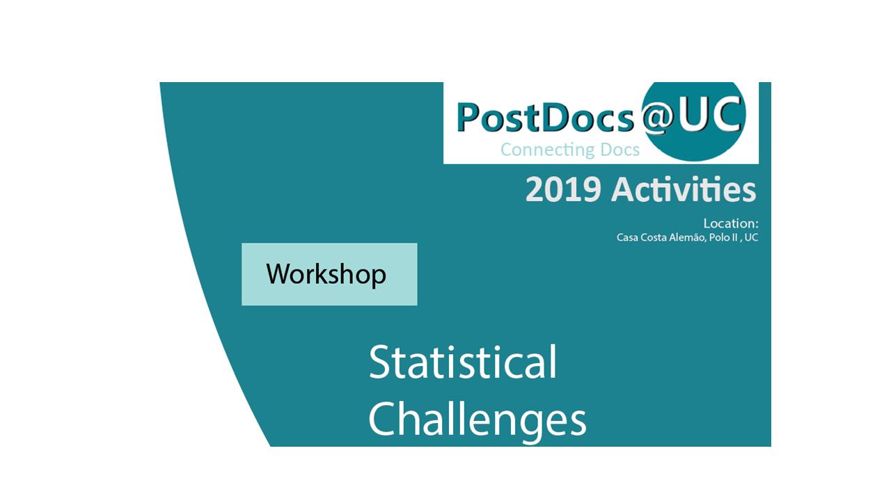 Workshop Statistical Challenges
