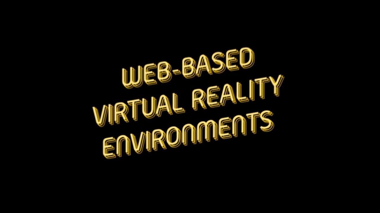Web-Base Virtual Reality Envionments e-learning course