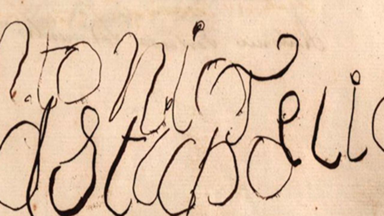Assinatura de António Feliciano de Castilho