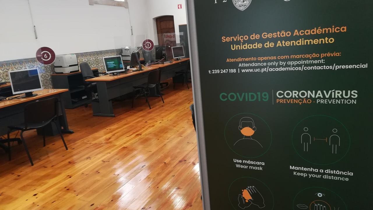 Centro de Atendimento do polo 1 - Entrada em tempo de COVID-19