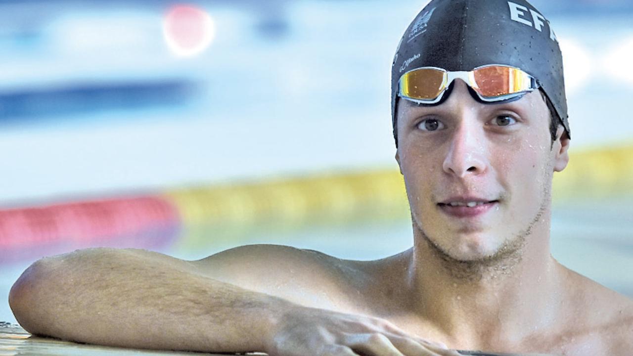 Gabriel Lopes, garantiu os mínimos para Tóquio 2020.