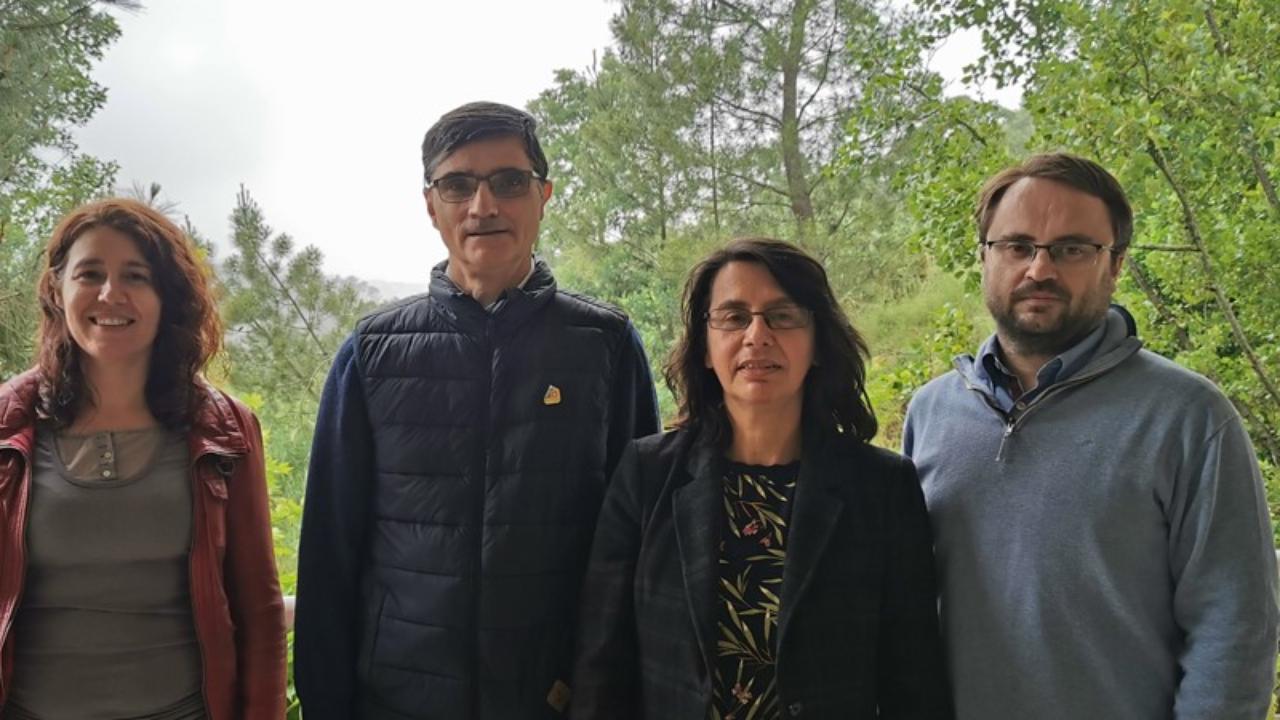 Rita Branco, Arménio Serra, Paula Morais e Jorge Coelho