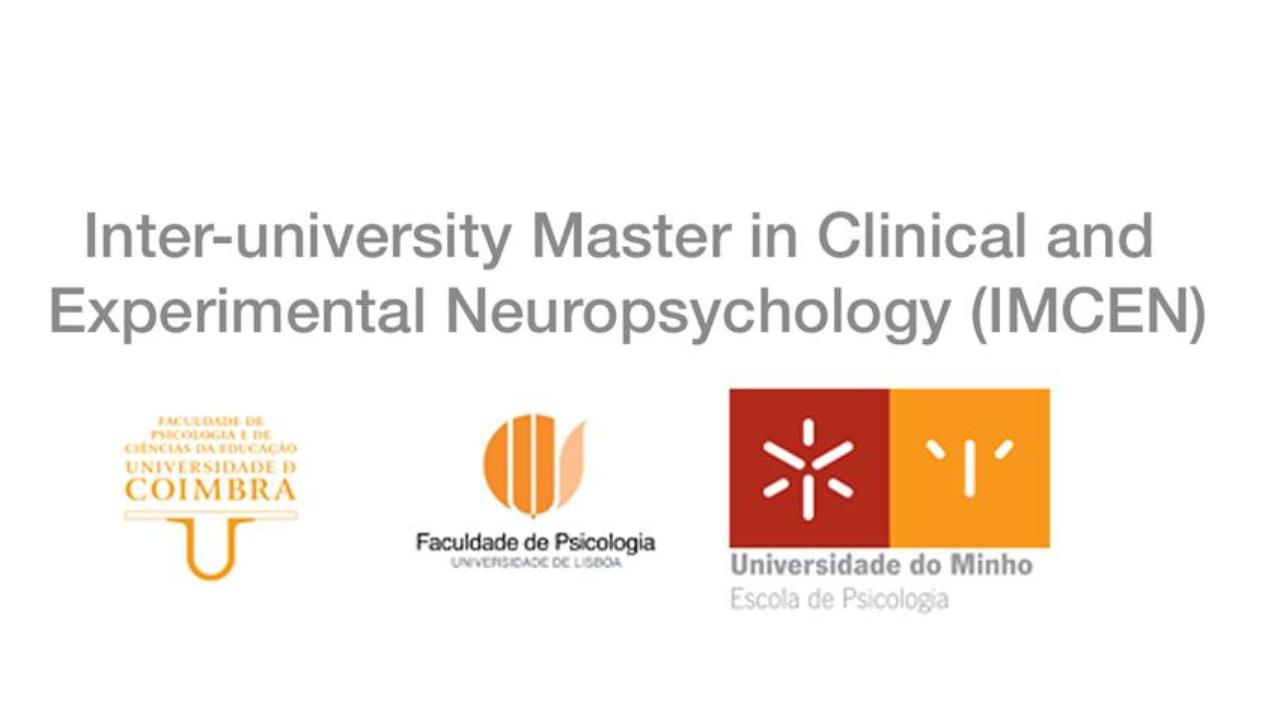 Newsletter from the Inter-University Master's in Clinical and Experimental NeuropsychologyNewsletter from the Inter-University Master's in Clinical and Experimental Neuropsychology