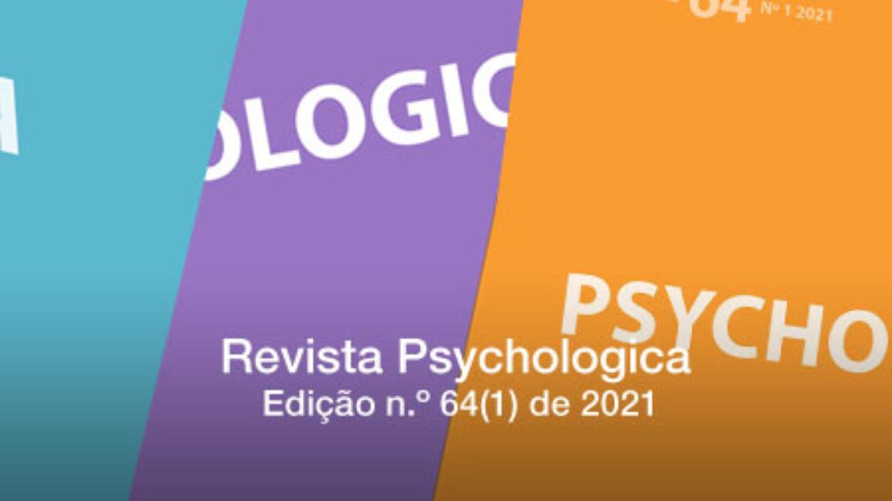 Revista Psychologica: edição n.º 64(1) de 2021