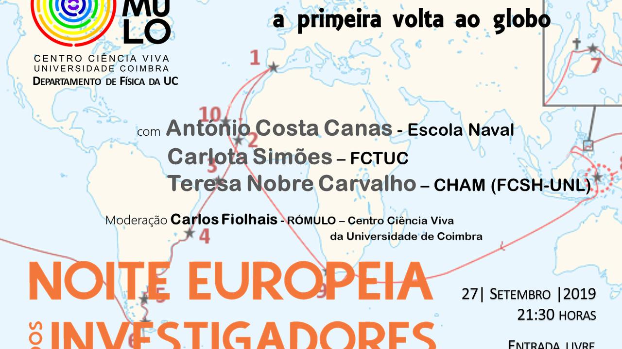 NEI 2019 - Fernão Magalhães: a primeira volta ao globo