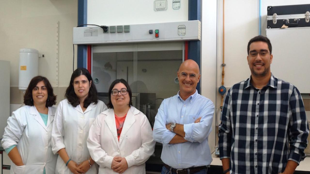 PREMIUM team - left to right: Ana Borba, Patrícia Alves, Patrícia Coimbra, Pedro Simões (coordinator) and Tiago Ferreira.