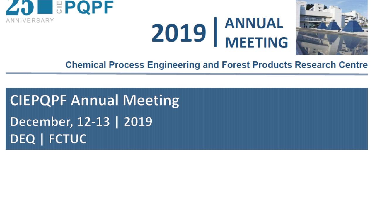 CIEPQPF 2019 Annual Meeting