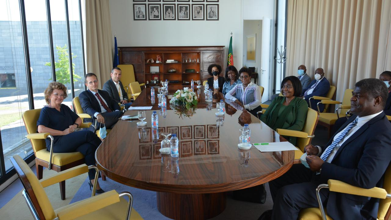 Visita da  Ministra do Ensino Superior, Ciência e Tecnologia de Angola