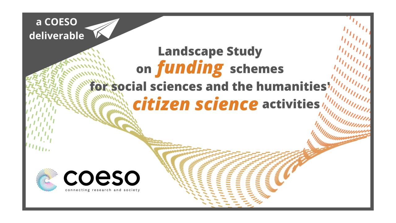 O estudo ajuda a identificar os próximos passos para melhorar o financiamento da Ciência Cidadã nas Ciências Sociais e Humanidades