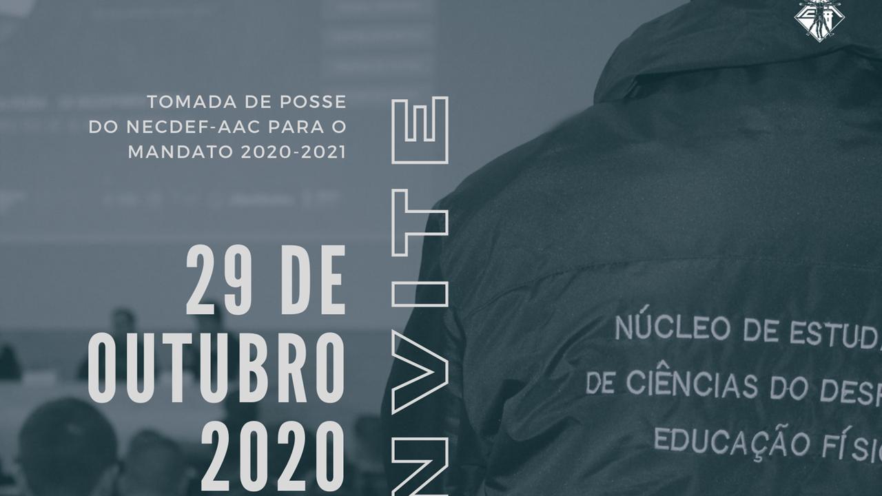 Tomada de NECDEF-AAC para o mandato 2020-2021