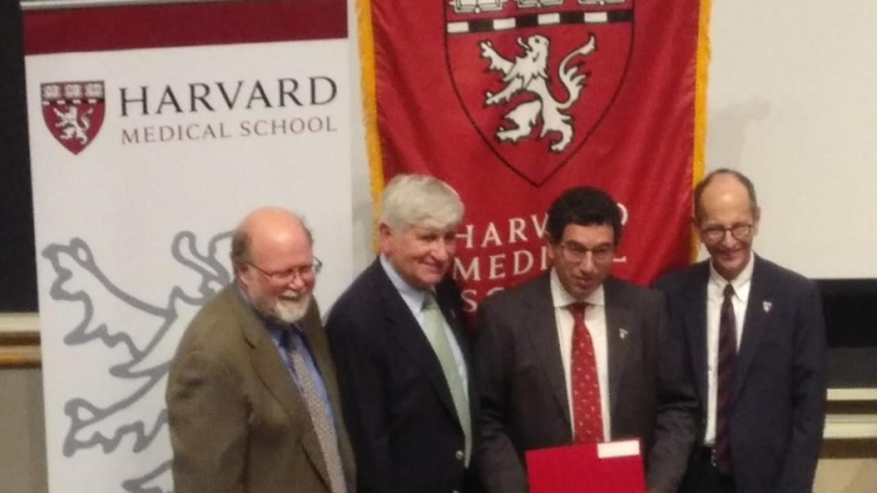 Jorge Salvador, Professor da FFUC, integra grupo de peritos na área do cancro no âmbito de uma pós-graduação na Universidade de Harvard