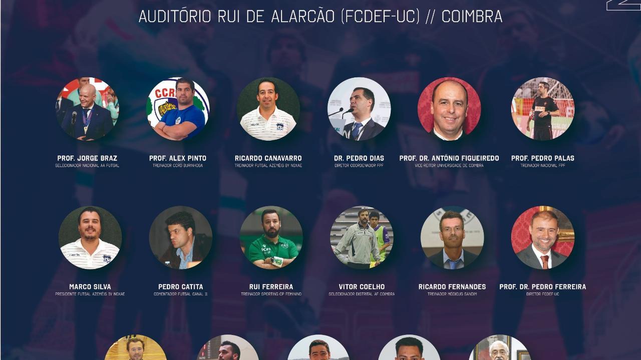 """I Formação Específica """"O Jogo de Futsal"""""""