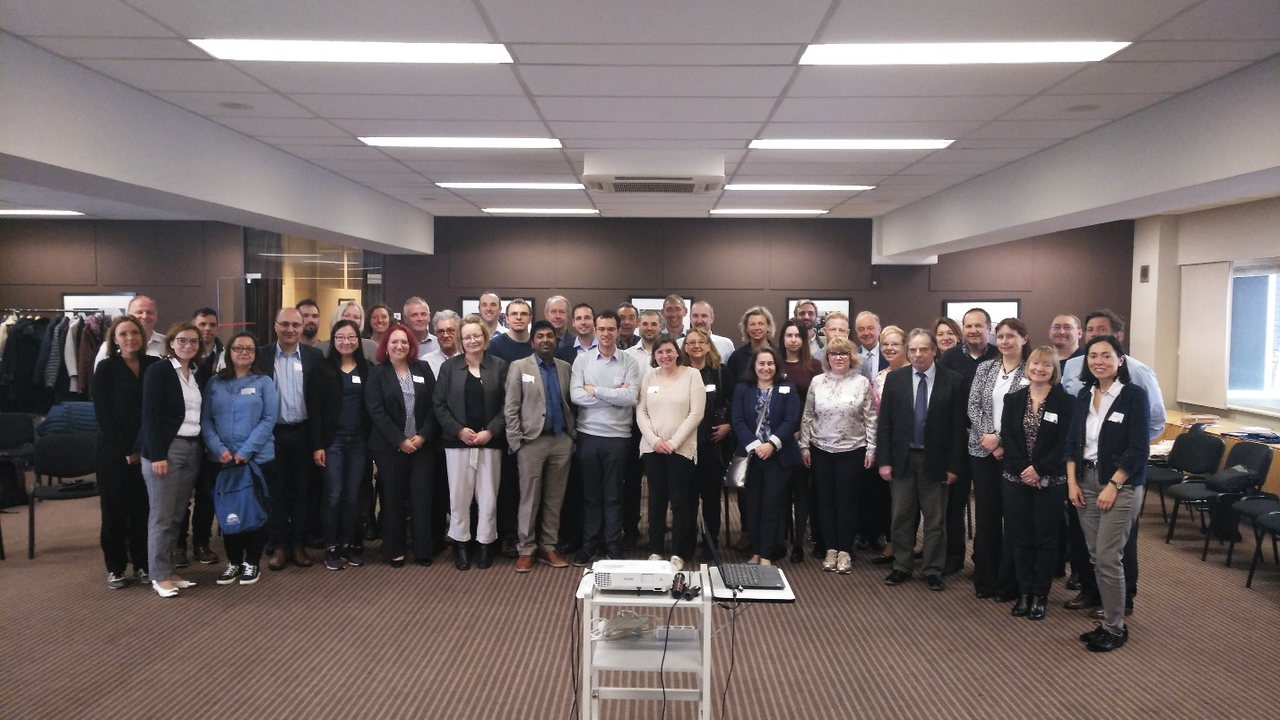 Kick-off of AERoGELS Group Photo