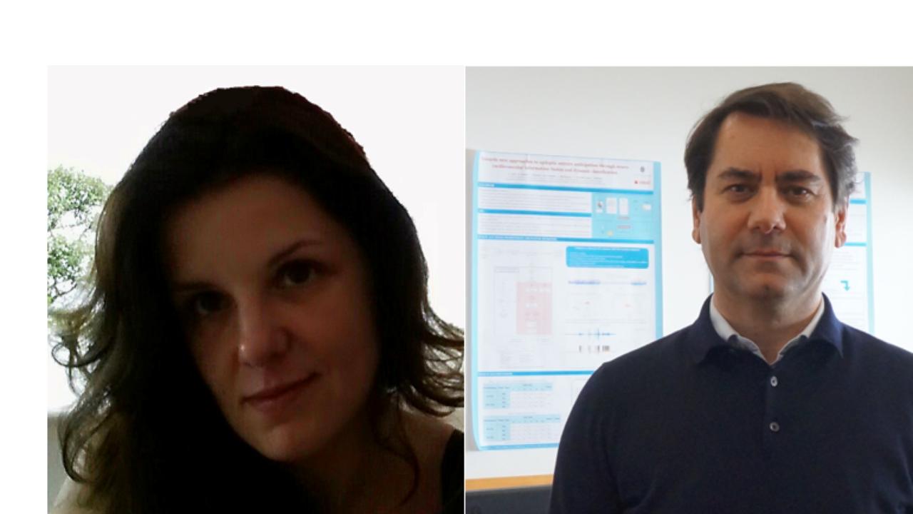 Irina de Sousa Moreira e Paulo de Carvalho, docentes da FCTUC