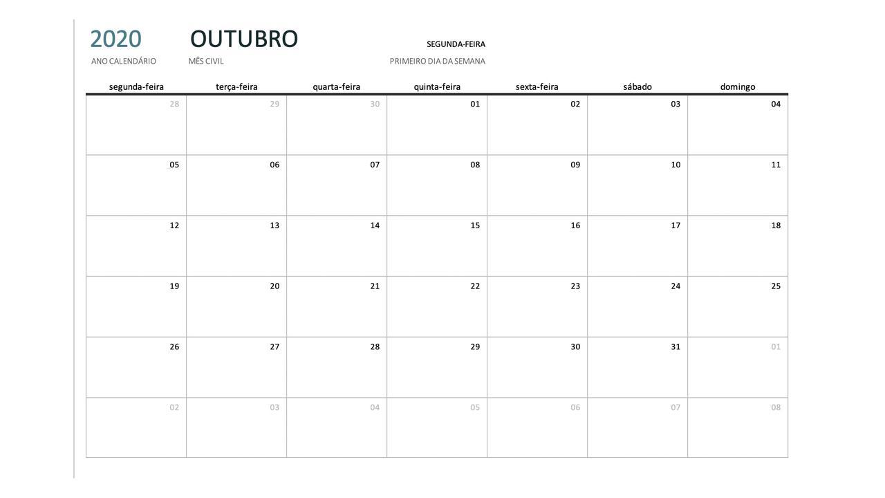 Calendário Formativo LIPA
