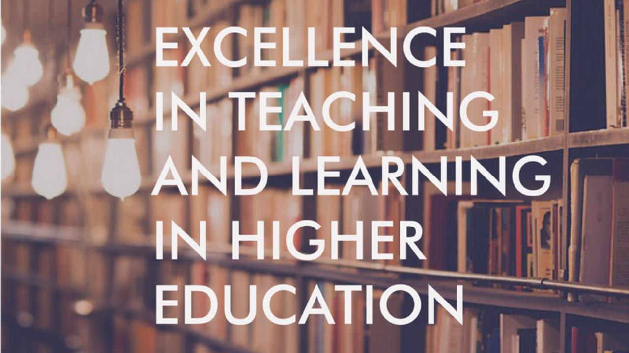 Excellence in Teaching and Learning in Higher Education: institutional policies, research and practices in Europe