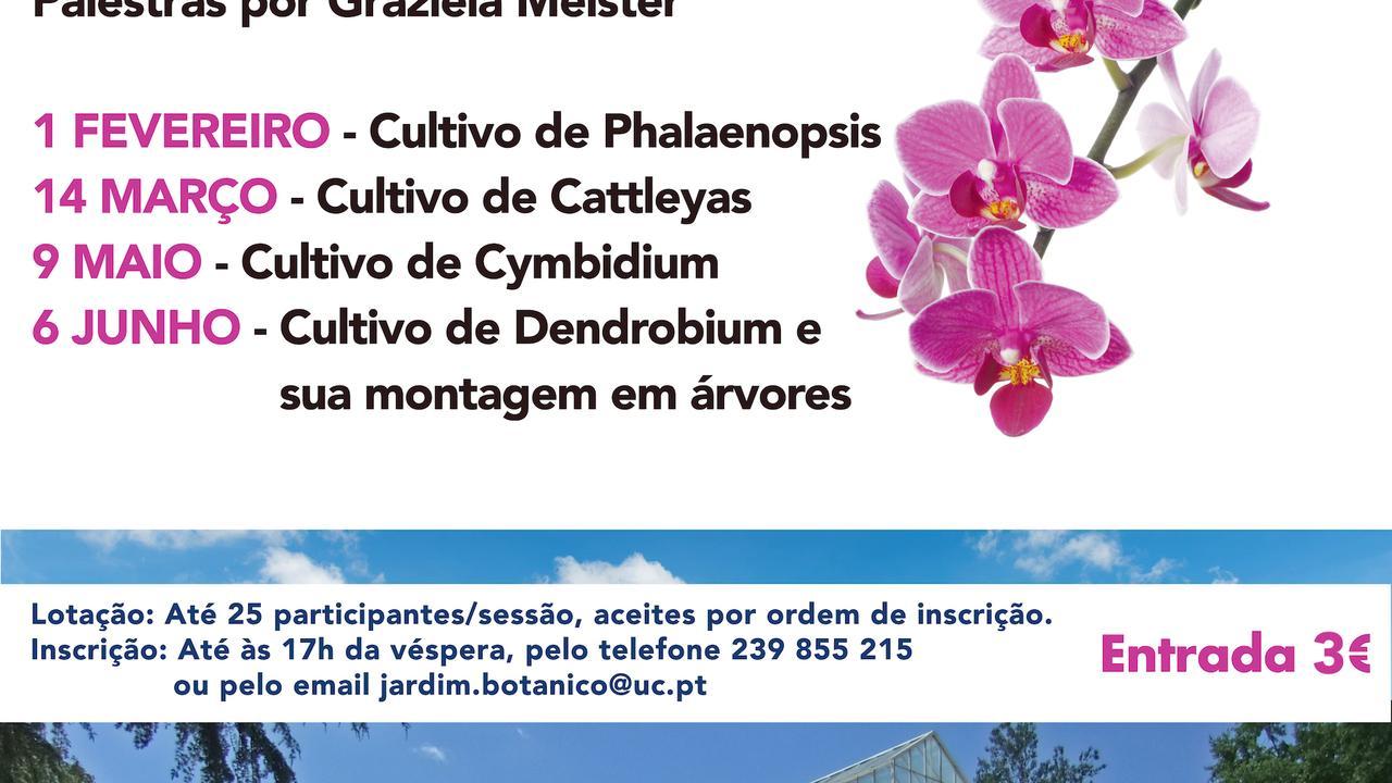 Palestras Formativas sobre o Cultivo de Orquídeas