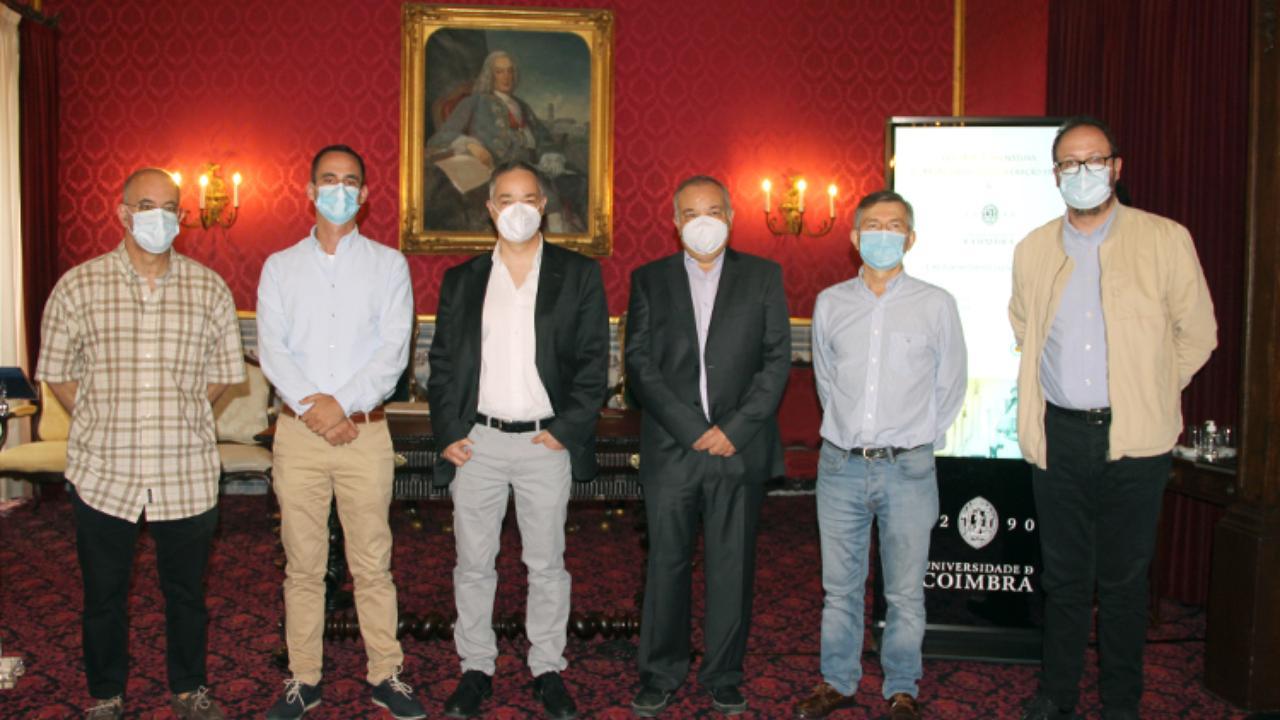 Paulo Oliveira, Vasco Mantas, Luís Simões da Silva, Alcides Pereira, Mário Quinta Ferreira e João Fernandes.