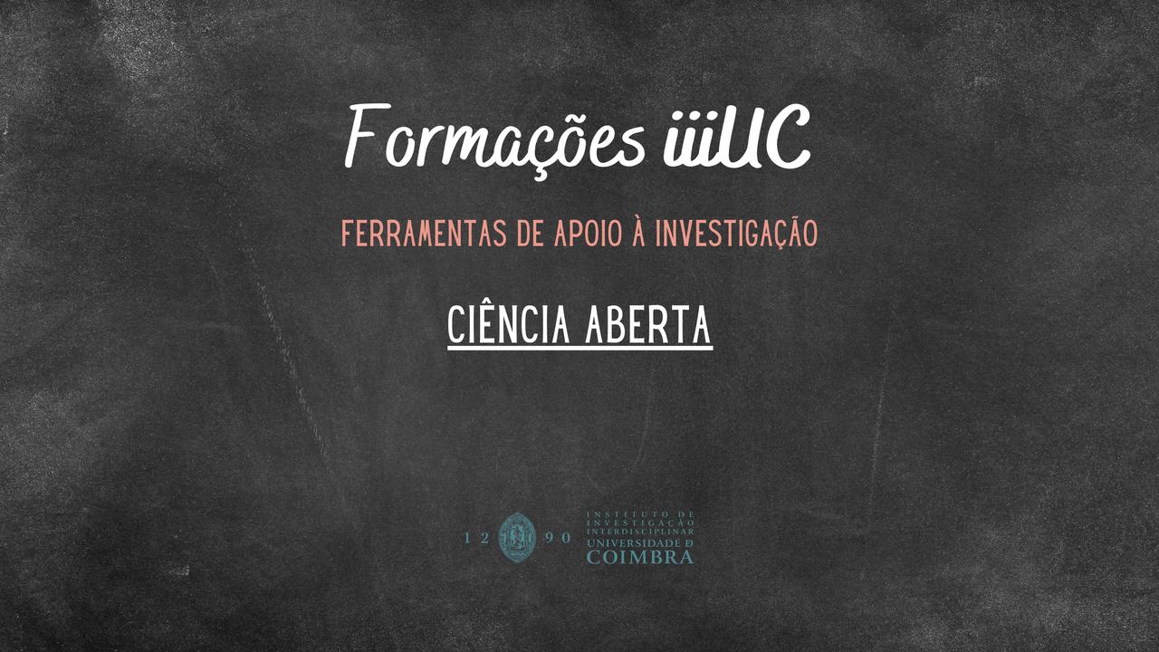 A primeira edição do workshop será dirigida a alunos de doutoramento da UC