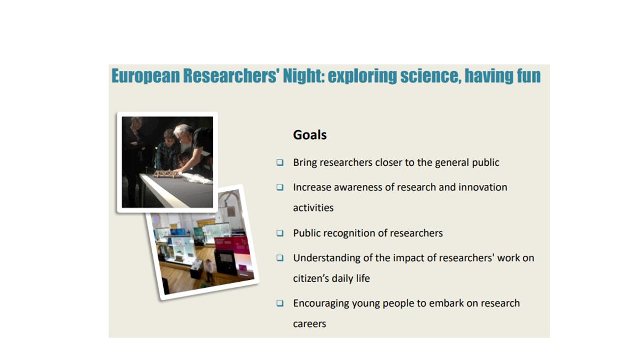 Noite Europeia Investigadores