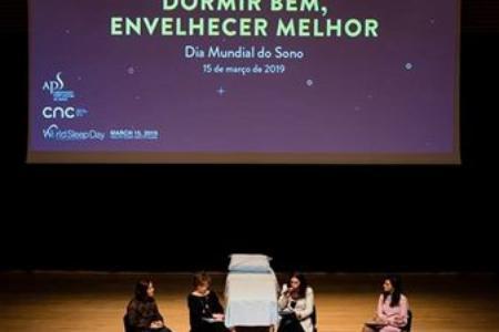 Coimbra, Auditório do Conservatório de Música,  15 de março, Dia Mundial do Sono 2019