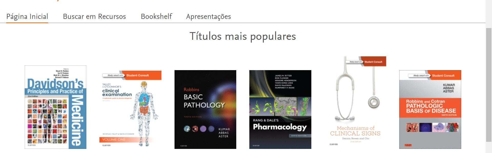 Base de dados ClinicalKey