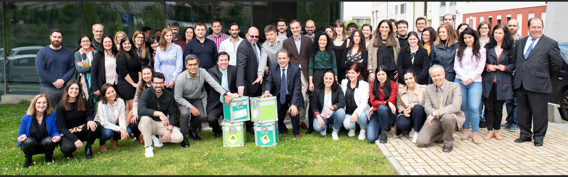 Team during the 10th anniversary of ICNAS