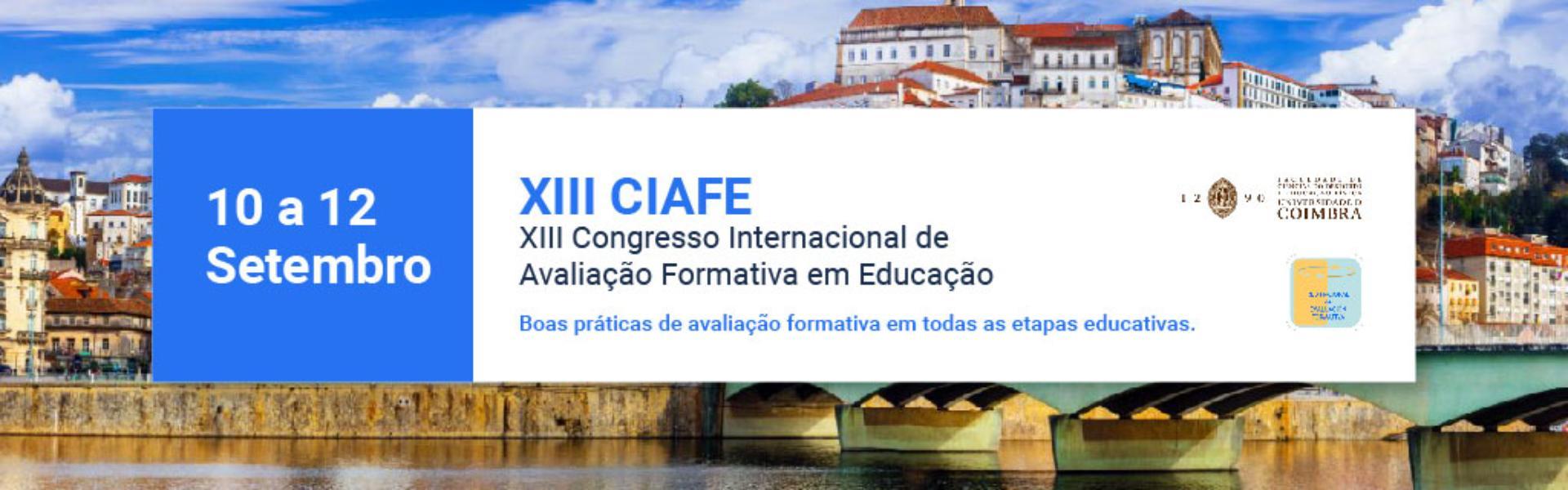 XIII Congresso Internacional de Avaliação Formativa em Educação