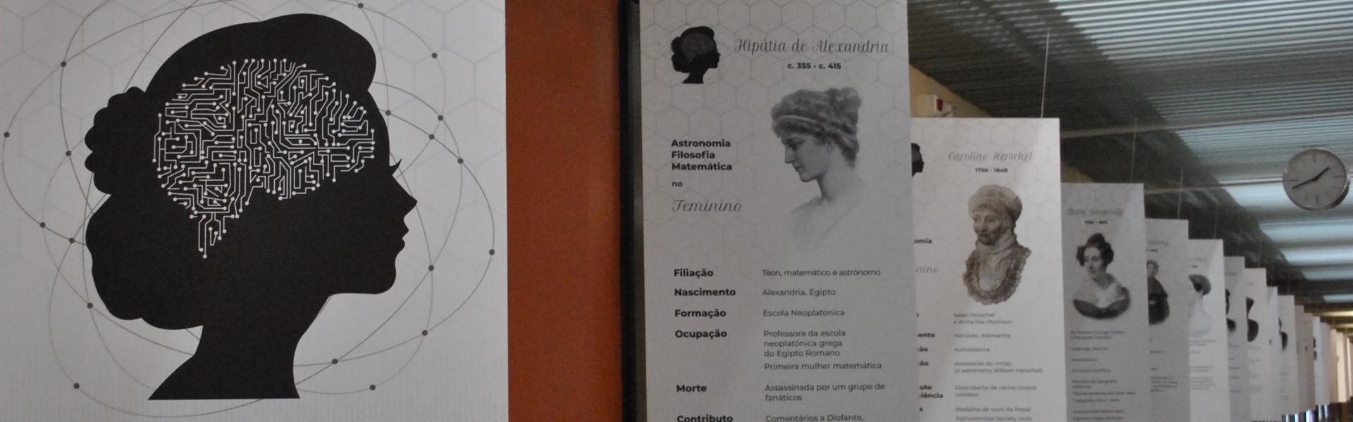 Exposição Ciência no Feminino