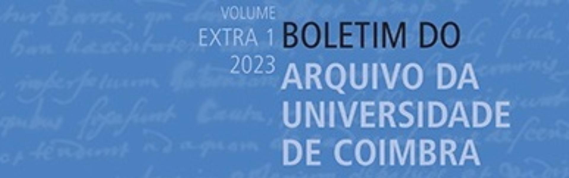 Publicação do Vol. XXXIII, n.º 2 do BAUC
