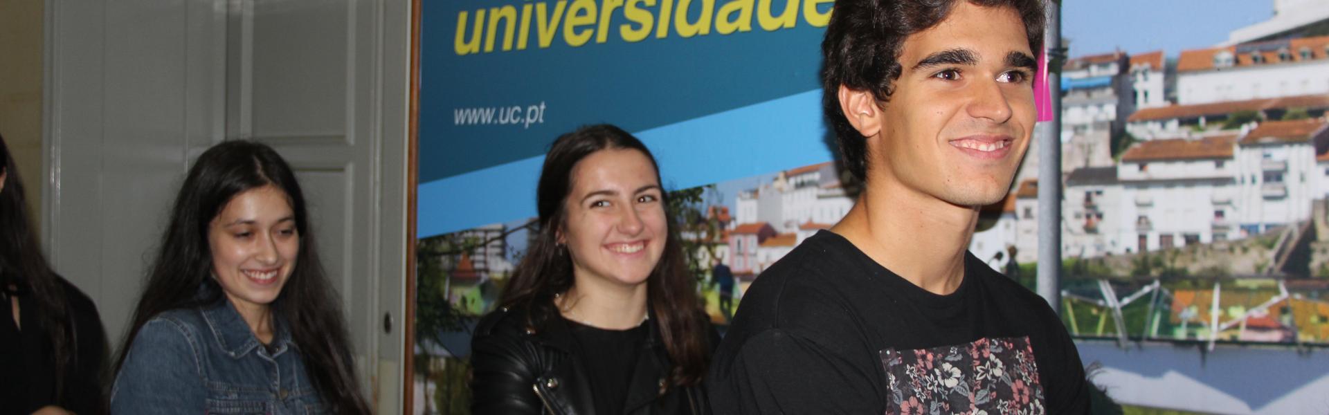 Informações e serviços académicos UC em www.uc.pt/academicos